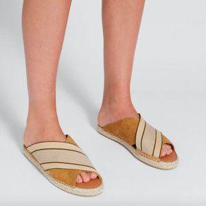 Seed Heritage Belle Woven Espadrille Slides Shoes